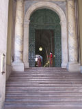 St. Peters Basilica Entrance Stock Image