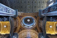 St Peters Basilica Royalty Free Stock Images