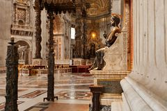St Peters Basilica Stock Image