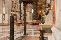 St Peters Basilica Royalty Free Stock Photos