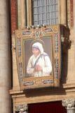 St Peters Basilica, kanonisering av Mother Teresa i Rome Arkivfoto