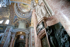 St. Peters Basilica in Rome Royalty Free Stock Photos