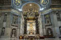St Peters Basilica Rome, Italien Royaltyfri Fotografi