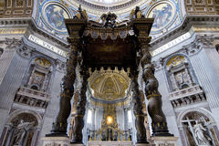 St. Peters Basilica (Rome, Italy) Stock Images