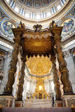 St. Peters Basilica (Rome, Italy) Royalty Free Stock Photo