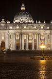 St. Peters Basilica in Rome, Italy. Papal seat. Vatican City. Stock Photo