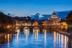 St. Peter's Basilica in Rome, Italy Royalty Free Stock Photos