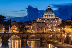 St. Peter's Basilica in Rome, Italy Royalty Free Stock Images