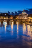 St. Peter's Basilica in Rome, Italy Stock Images