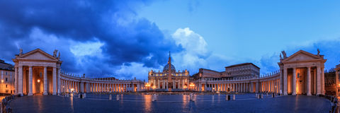 St. Peters Basilica in Rome Royalty Free Stock Images
