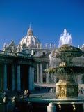 St.Peters Basilica, Rome Stock Photos