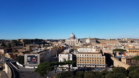 St Peters Basilica, saint Peters Square, par l'intermédiaire de della Conciliazione, ville, paysage urbain, point de repère, vill Images stock