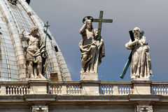 St Peters Basilica, the Vatican Stock Photo