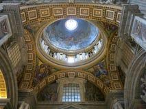 St. Peters Basilica, Vatican City Stock Images