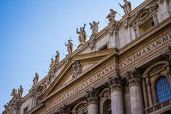 St Peters Basilica in Vatican City Stock Images