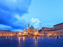 St. Peters Basilica in Vatican City Royalty Free Stock Photo