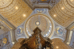 St. Peters Basilica, Vatican City Royalty Free Stock Image