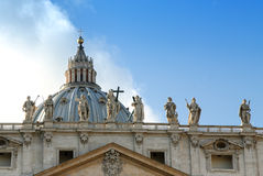 St. Peters Basilica, Vatican City Royalty Free Stock Photography