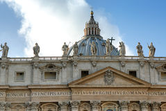 St. Peters Basilica, Vatican City Royalty Free Stock Images