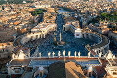St. Peters Basilica, Vatican City Royalty Free Stock Photos