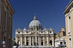 St. Peters Basilica, Vatican City Stock Image