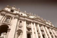 St Peters Basilica Stock Photo
