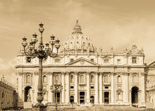 St. Peters basilica, Vatican Rome Stock Photo