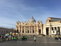 Saint Peters Basilica Royalty Free Stock Images