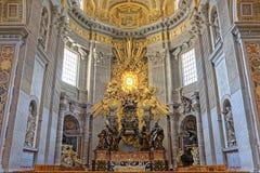 St Peters bazylika, watykan obraz stock