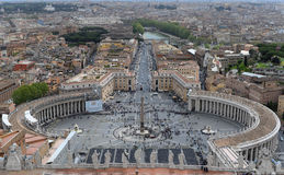 St Peters Cathedral, Vatican City, Italien royaltyfria bilder