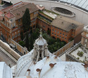 St Peters Cathedral, Ville du Vatican, Rome, Italie Images stock