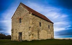 St Peters Chapel Bradwell Essex UK Arkivbild