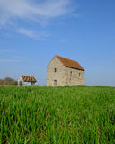 St Peters Chapel Bradwell Stock Photo