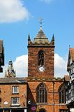 St Peters Church, Chester. Royalty Free Stock Photo