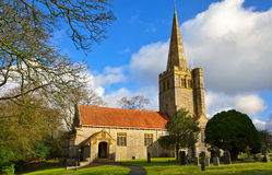 St Peters Church, Field Broughton Stock Photography