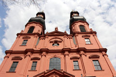St.Peters church in Mainz Royalty Free Stock Photos