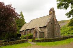 St Peters Church Martindale Valley Cumbria Engeland het UK Royalty-vrije Stock Foto's