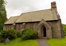 St Peters Church Martindale Valley Cumbria England UK Fotografering för Bildbyråer