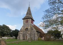 St Peters Church Oare Kent Images stock