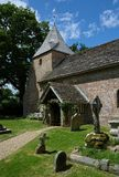 St Peters Church, Twineham, le Sussex LE R-U photographie stock libre de droits
