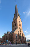 Hamburg's church St. Peters Royalty Free Stock Images
