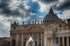 The St.Peters Dom in the Vatican Royalty Free Stock Images