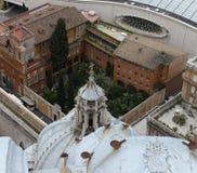 St Peters katedra, watykan, Rzym, Włochy Obrazy Stock