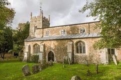 St Peters kościół, Upwood, Cambridgeshire Obrazy Stock