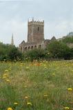 St Peters kościół w kasztelu parku Bristol obraz royalty free