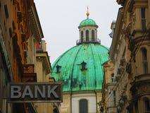 St. Peters kościół w Wiedeń fotografia royalty free