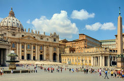 St Peters Square Royalty Free Stock Photo
