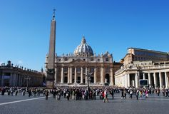 St.Peters Square Royalty Free Stock Photo