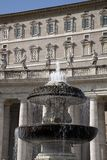 St Peters Square by Bernini in Vatican City Stock Photography