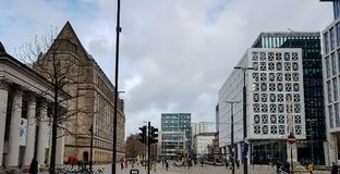 St Peters Square, Manchester Photo libre de droits